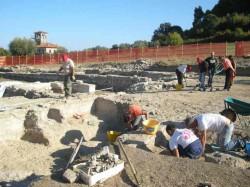 Cupra Marittima, scavi parco archeologico