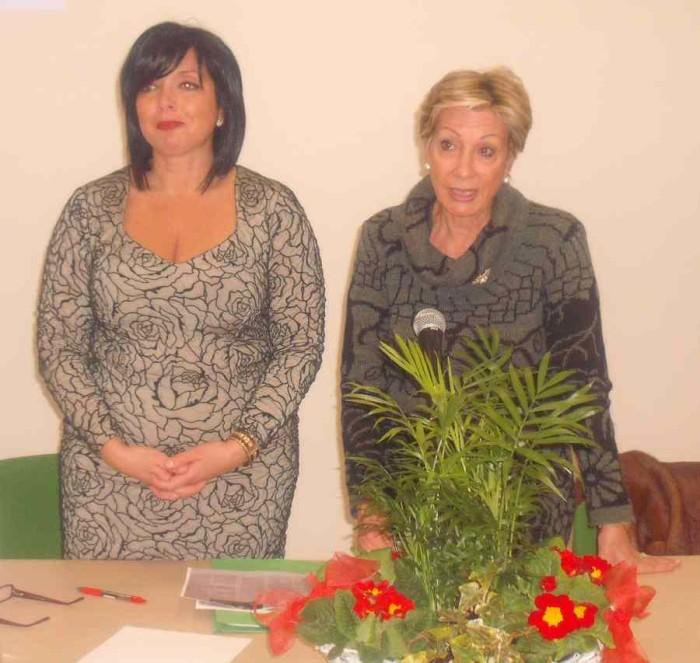 Cristina Calvaresi e Emanuela Rosei