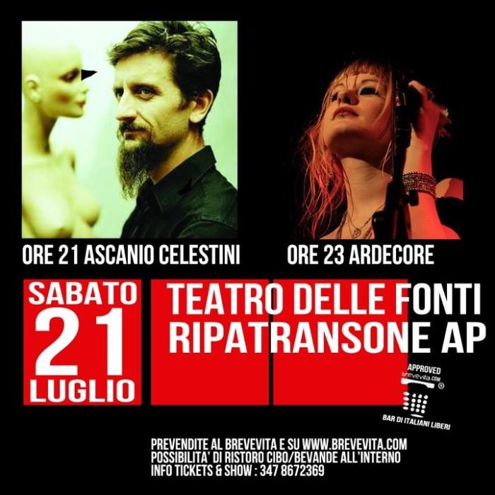 Ascanio Celestini + Ardecore @ Ripatransone
