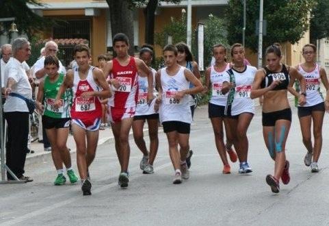 Cadetti_partenza marcia_Ascoli 2011
