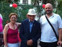 centenario_Piattoni con il Sindaco Gaspari