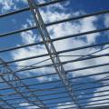 Pensilina per pannelli solari