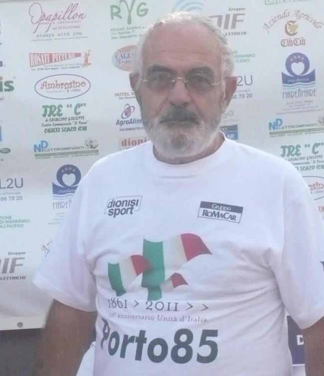 Il presidente Roberto Silvestri, l'anima della gara