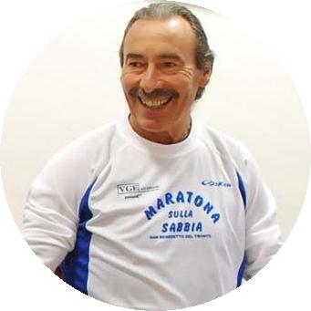 Francesco Capecci, l'anima della Maratona sulla sabbia