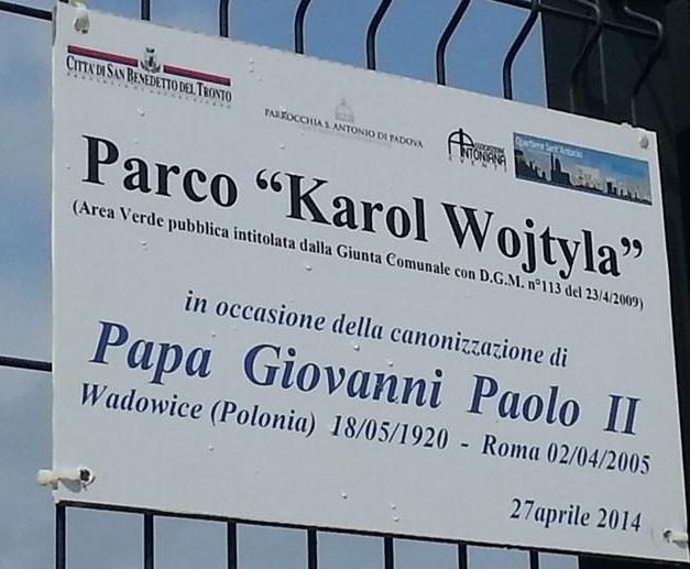 Parco Karol Wojtyla