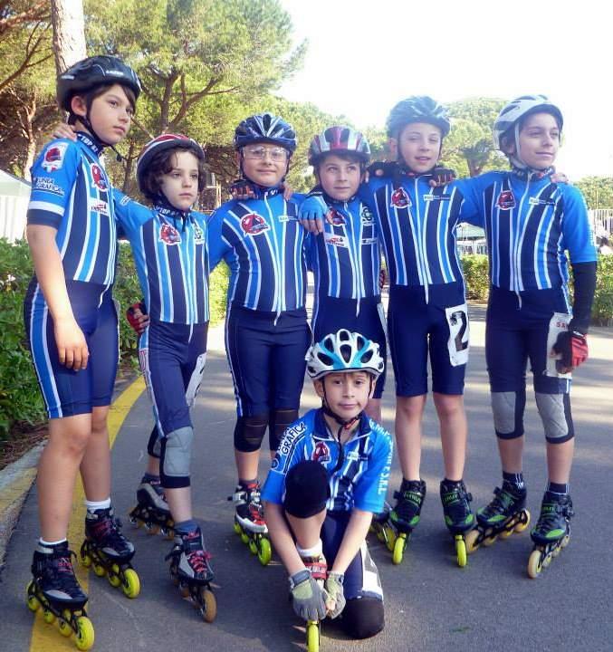 I giovani atleti dei Pattinatori Sambenedettesi protagonisti in Toscana
