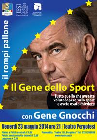"""Gene Gnocchi, """"Il Gene dello sport. Tutto quello che avreste voluto sapere sullo sport e avete osato chiedere"""""""