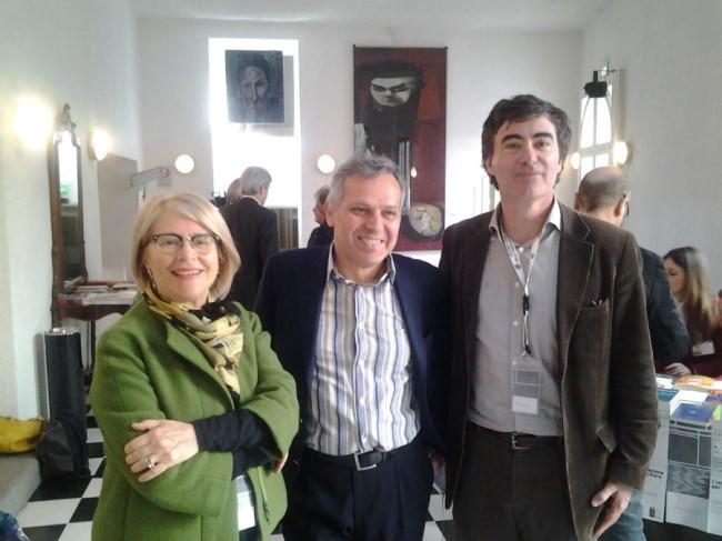 Lella Mazzoli, Armando Massarenti e Giorgio Zanchini
