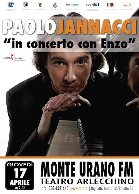 Tam, Tutta un'Altra Musica con Paolo Jannacci al Teatro Arlecchino di Monte Urano