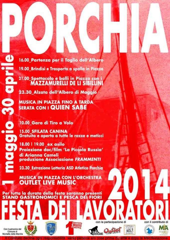 Festa dei Lavoratori 2014 - Porchia