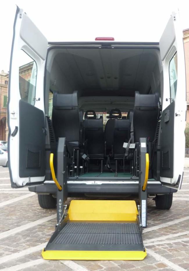 veicolo per disabili