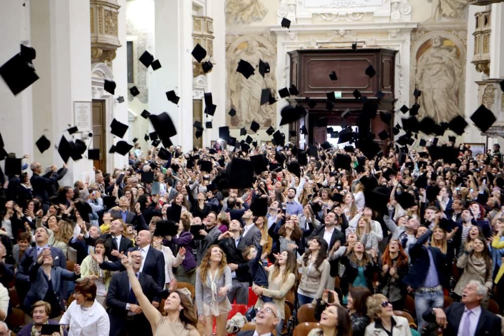 In 700 per festeggiare i laureati di UniMc