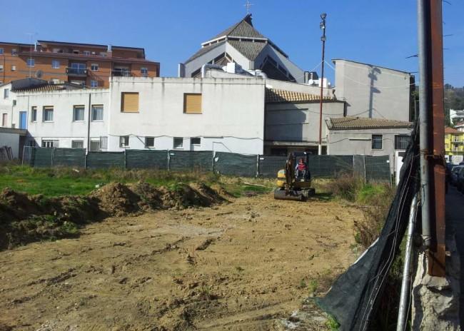 Impianto San Filippo Neri prima dei lavori