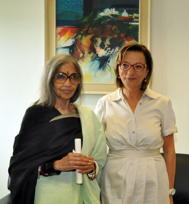 TARA GANDHI BHATTACHARJEE, MAURA MALASPINA