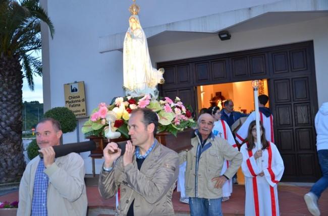 Solenne Processione Madonna di Fatima
