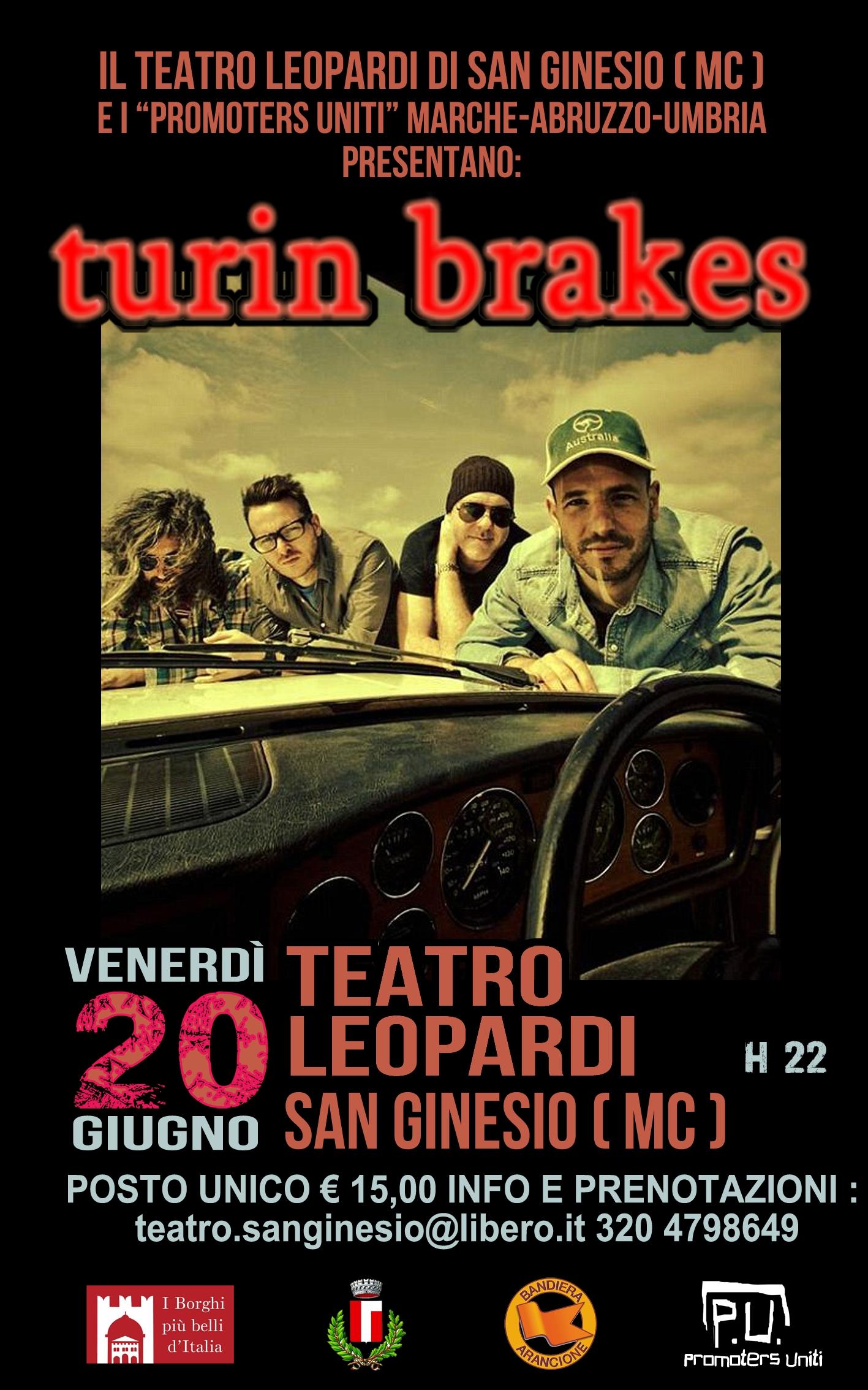 Turin Brakes a San Ginesio!
