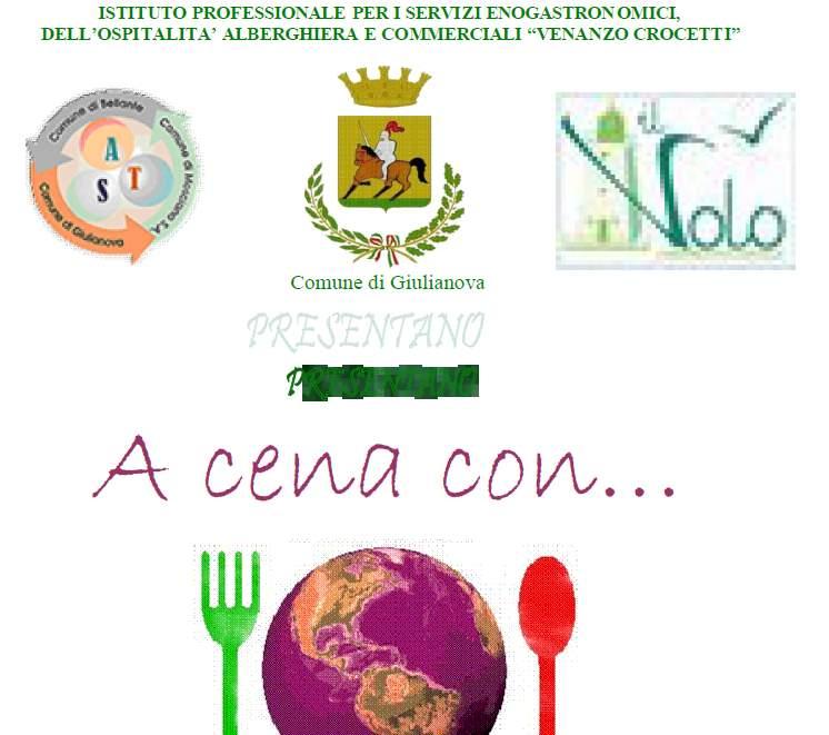 A cena con… all'Istituto Alberghiero Crocetti
