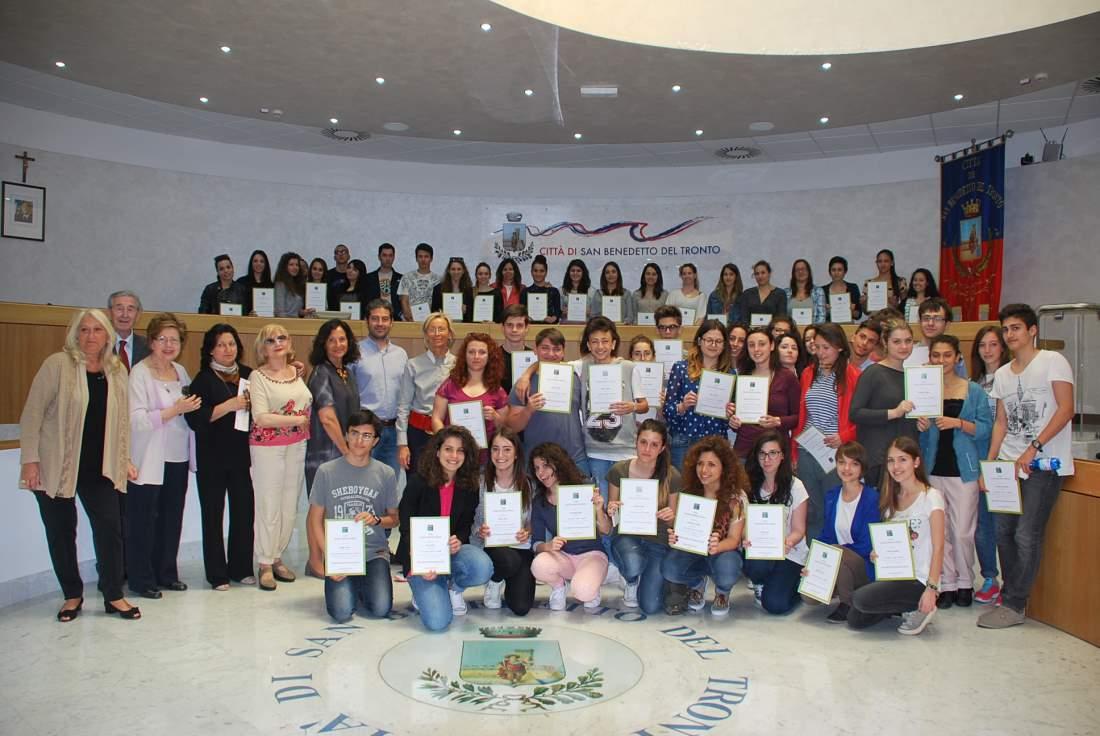 Giornate Fai di Primavera: premiazione apprendisti Ciceroni a San Benedetto