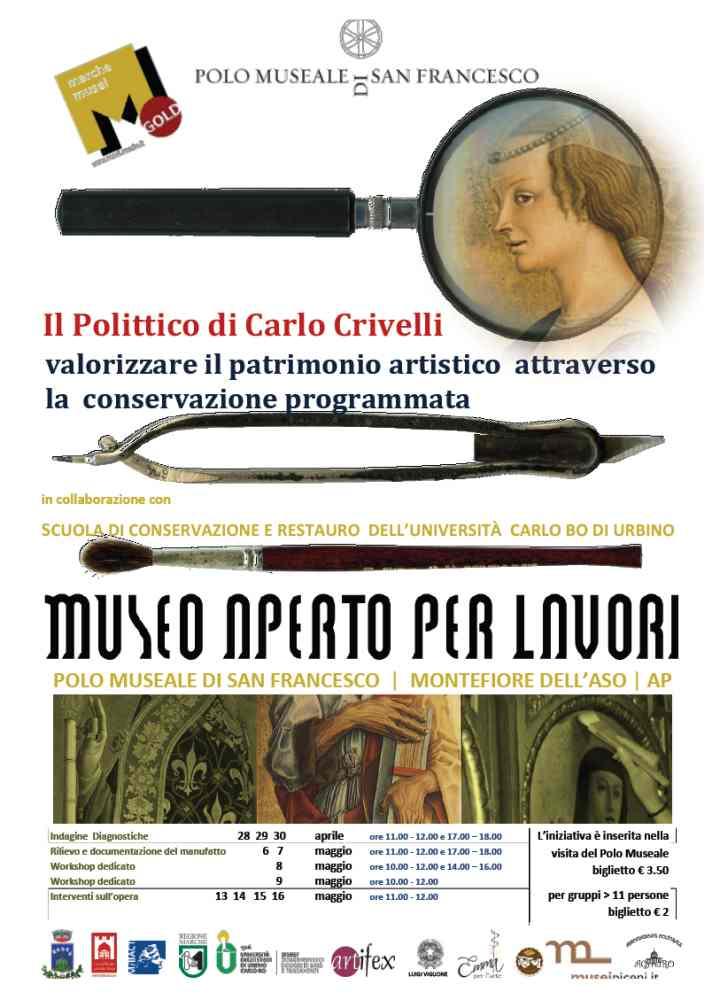Carlo Crivelli, Museo Aperto per Lavori a Montefiore
