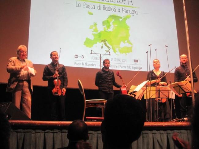 La festa di Radio3 / Perugia 14 giugno 2014  h12 / Teatro del Pavone