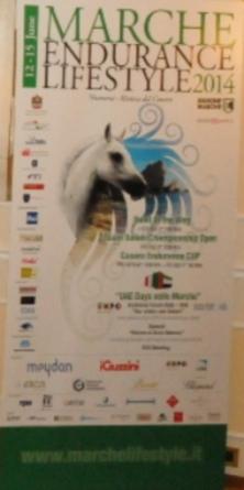 """Anche i medici veterinari  dell'UniCam al """"Marche Endurance Lifestyle 2014"""""""