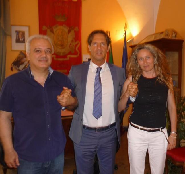 da sx Marinozzi, Mastromauro, Conte