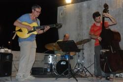 Scultura Viva 2014,concerto jazz al molo sud