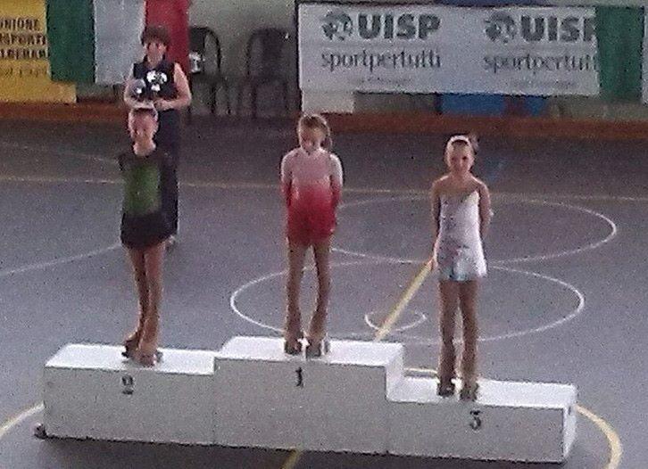 Medaglia di bronzo per la Lama Skating ai Nazionali Formula UISP