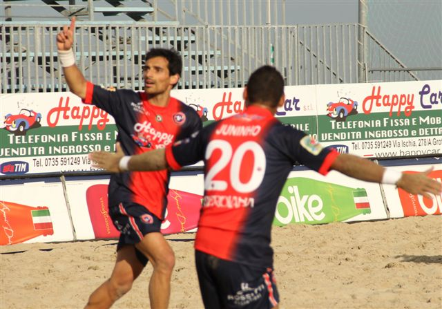 Beach Soccer, bilancio positivo per la Happy Car Samb