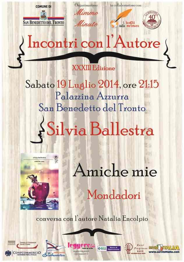 """Silvia Ballestra, """"Amiche mie"""""""