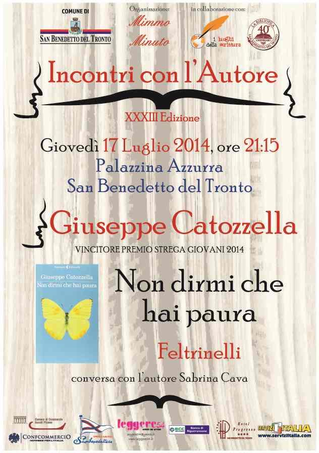 "Giuseppe Catozzella, ""Non dirmi che hai paura"""
