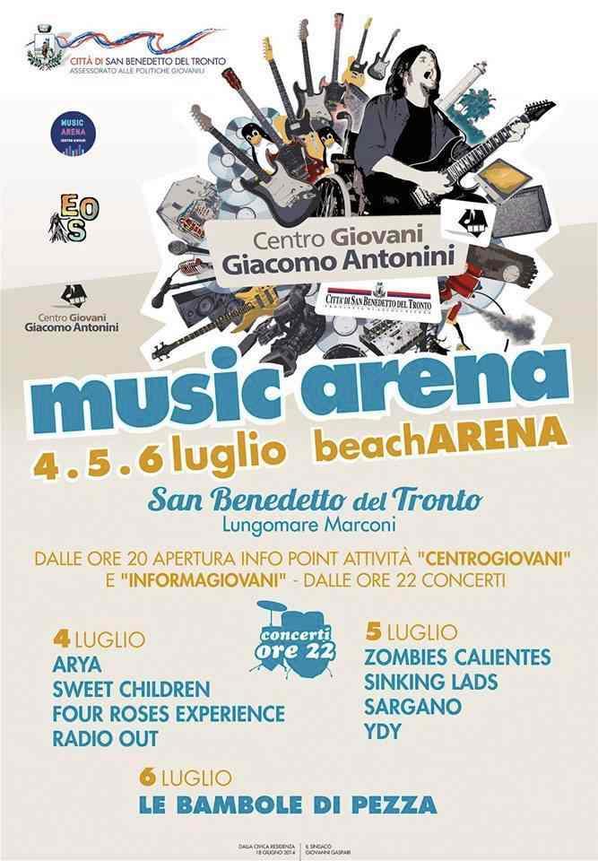 Al via Music Arena