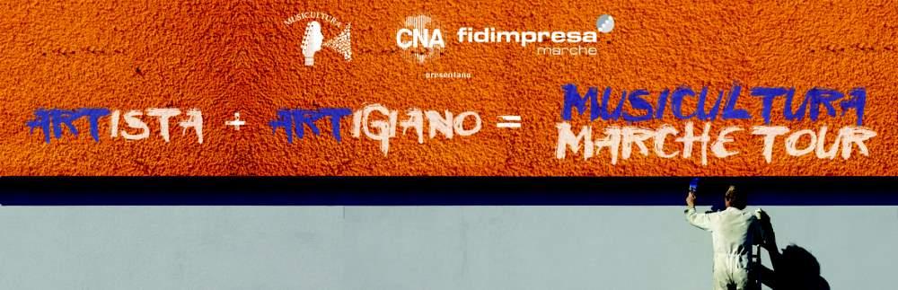 """La Cna """"invade"""" Piazza del Popolo con Musicultura"""