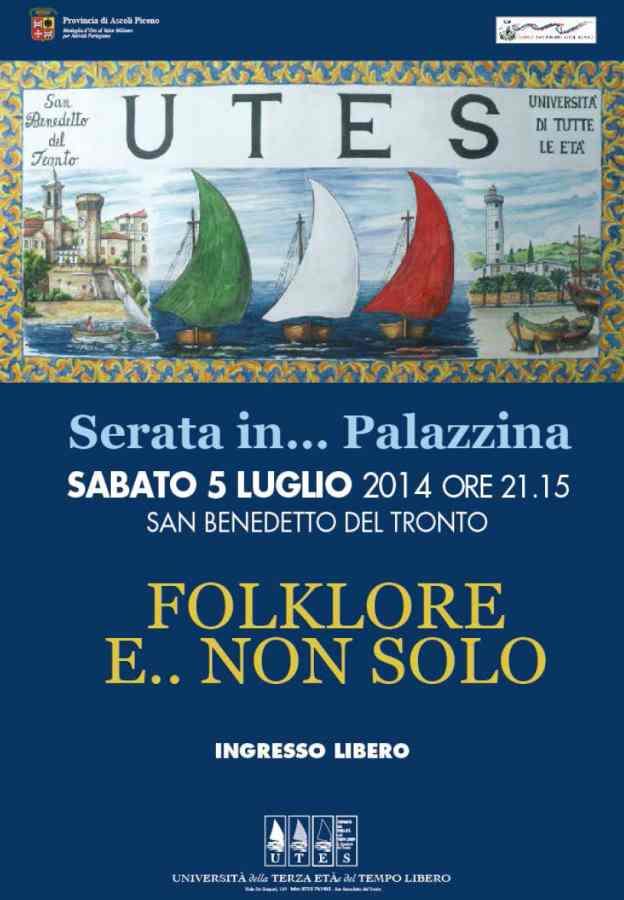 """Alla Palazzina Azzurra """"Folklore e non… solo"""" con l'Utes"""