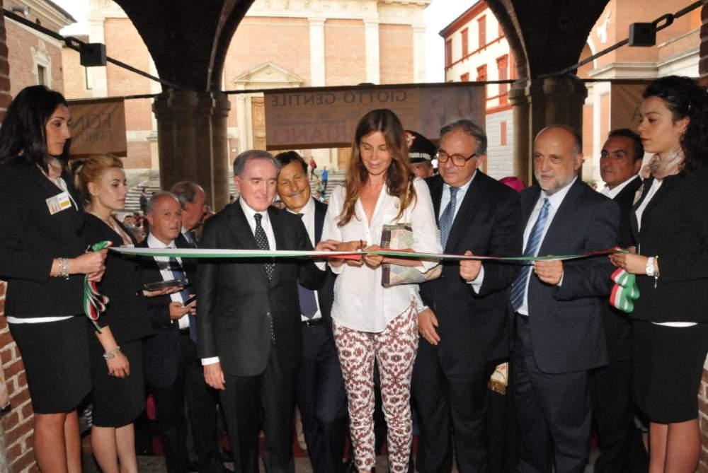 """Inaugurazione mostra """"Da Giotto a Gentile"""" a Fabriano"""