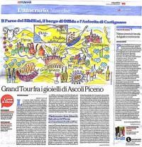 Repubblica, Viaggi sul Piceno