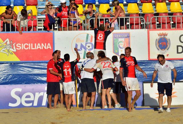 Beach Soccer, la Samb festeggia la SUPERCOPPA 2014
