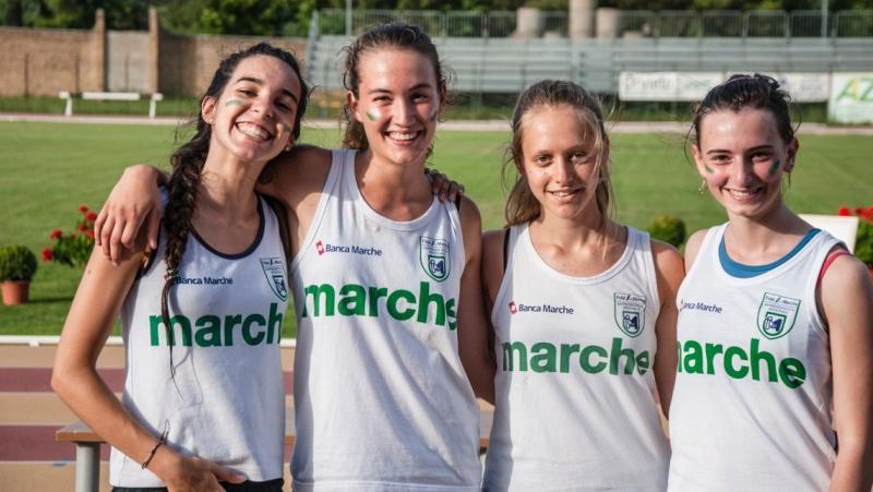 Atletica, Staffette delle Marche terze ad Orvieto