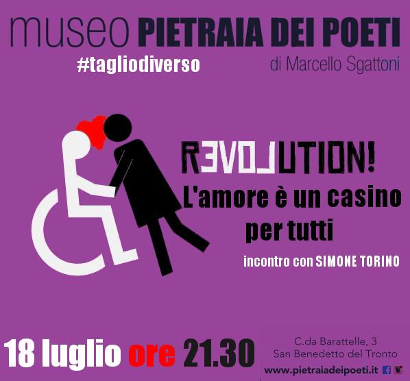"""Simone Torino, """"Revolution! L'amore è un casino per tutti"""""""