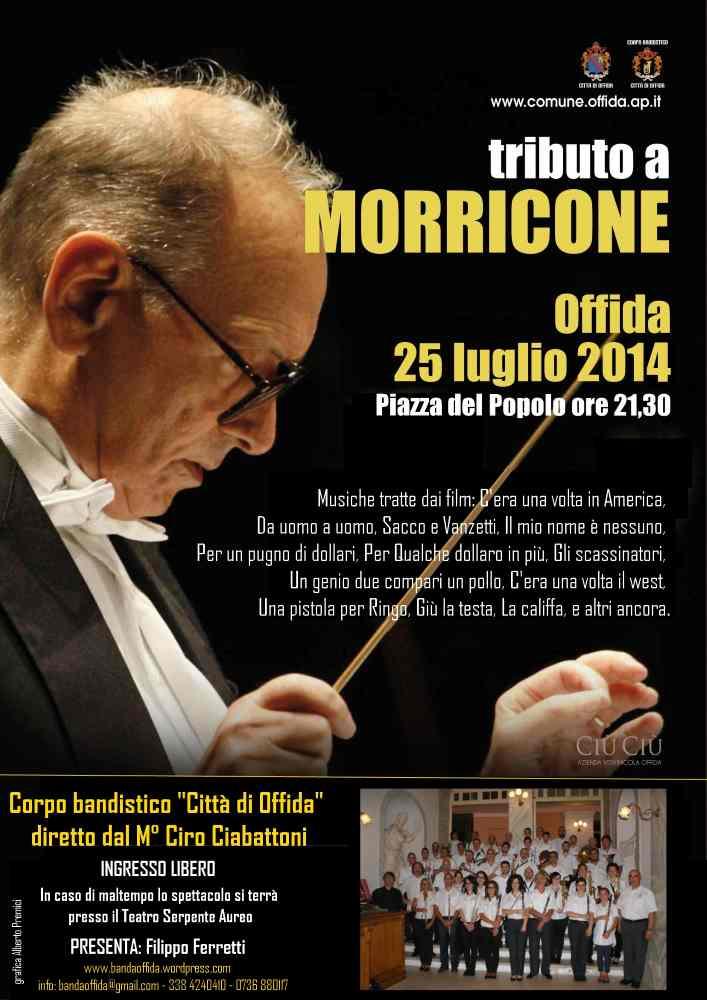 Offida, tributo a Morricone