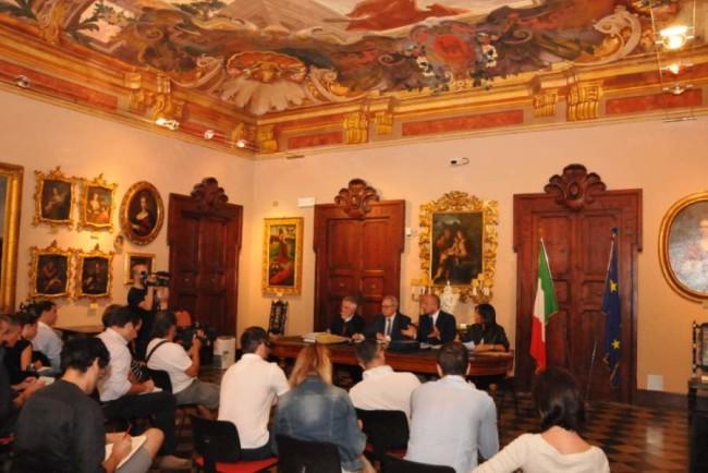 04_08_2014_Giunta Reg.le ad Ascoli P., durante la conferenza stampa