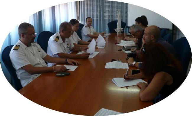 un momento della conferenza stampa_13 ago 2014 © www.ilmascalzone.it