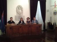 da sx Alessandro Straccia, Isabella Bosano, Giovanna Müller e Maurizio Petrolo