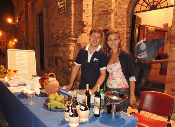 Puzzle Gastronomico 2014 - lo stand dell'assessore Roberto Pasquali