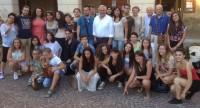 alcuni dei partecipanti alla Corrida 2014 insieme allo staff