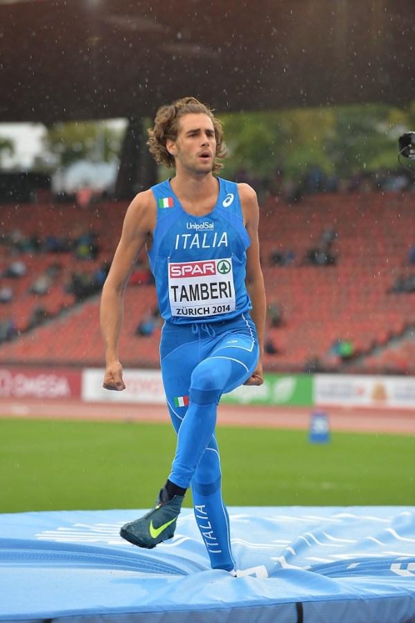 Campionati Europei di Atletica, Tamberi in fiale