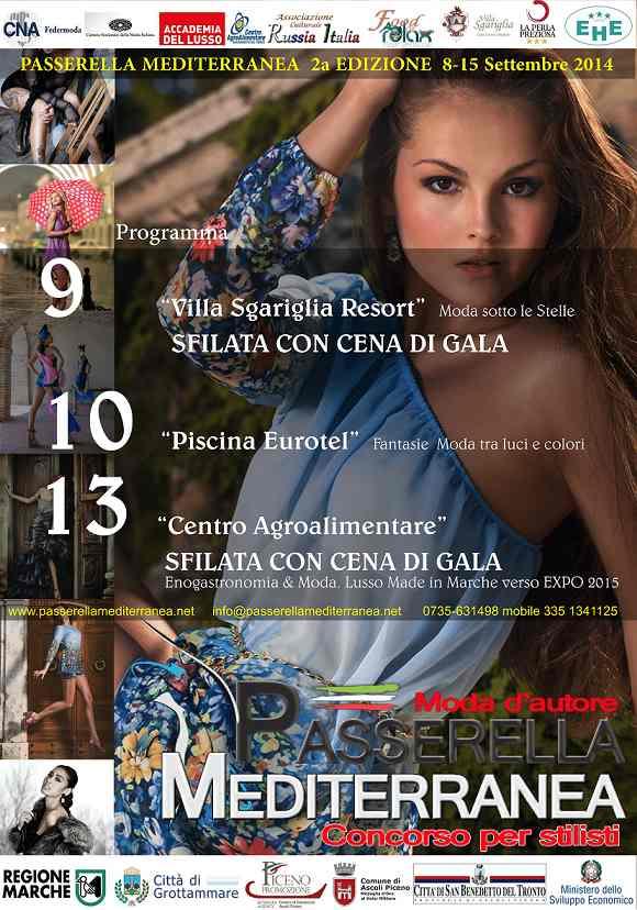 Passerella Mediterranea, moda d'autore nel Piceno