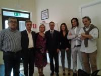 da sx Bruno Manzietti, Sergio Corradetti,Valentina Bellini, Paolo D'Erasmo, Lucia Quaglia, Stefano Novelli, Alberto Antognozzi