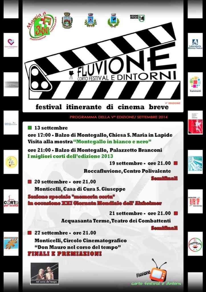 """Al via le semifinali del """"Fluvione Corto Festival"""""""