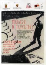 """Domenica 21 """"Le meraviglie di Travertino"""" alla cava di Rosara"""